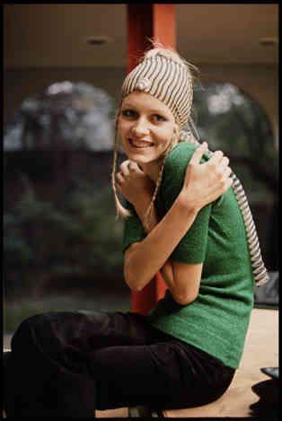 'Twiggy' - Linda McCartney, 1969  Image courtesy Bonni Benrubi Gallery via Flavorwire