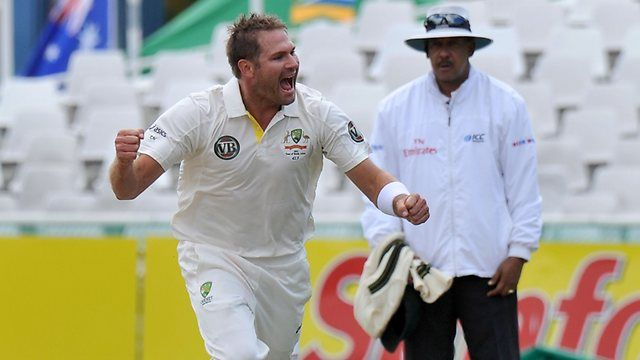 Australian fast bowler Ryan Harris is the most potent of his side's bowling