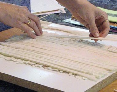 how to make papyrus paper in school