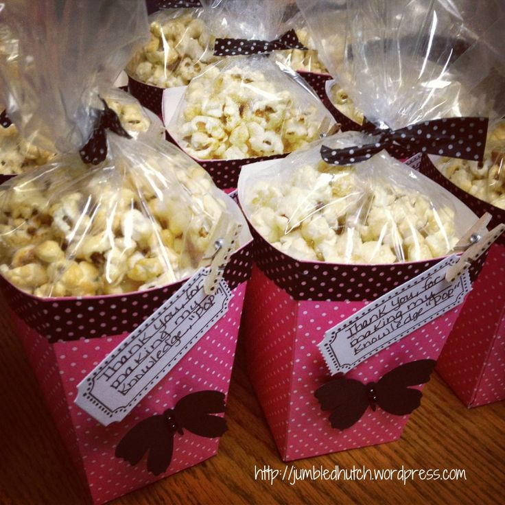 """Great simple gift for teacher thank you...  Tag reads """"Thank you for making my knowledge """"pop!"""""""
