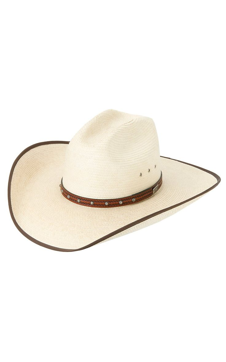 Larry Mahan Browning Natural Palm Cowboy Hat