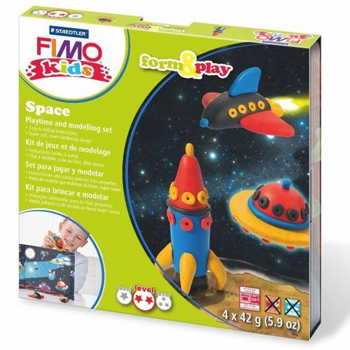 Pro holčičky i kluky, kteří chtějí objevovat vesmír. FIMO hmota rozvíjí kreativitu. Zabavte smysluplně vaše děti :)