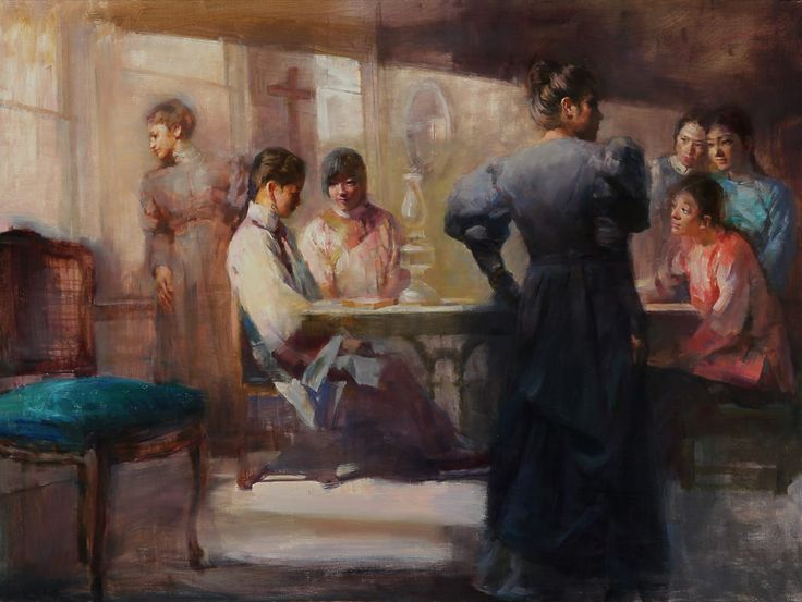 https://flic.kr/p/UhS6aE | Lei Q. Min - The Cameron House [2014] | Lei Q. Min graduated from the Shanghai Art Academy in. She began her career painting advertising murals for cinemas in Shanghai, China. She moved to Singapore in 1985, and eventually established a career as a portrait painter for society figures and government officials. During her time there, she held two solo exhibitions at the National Art Museum of Singapore and National History Museum of Singapore. Lei Q. Min has been…