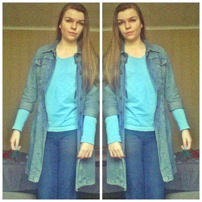 Dororetka -Fashion Blog: BLUE LOOK