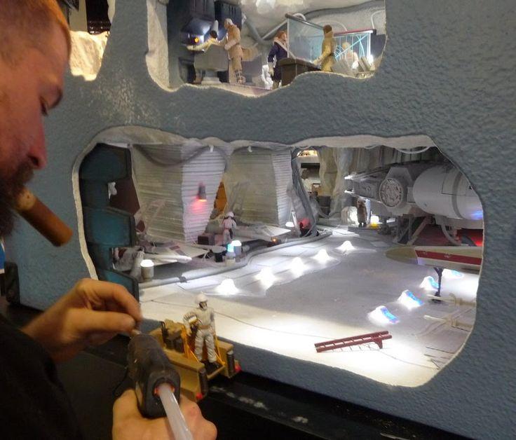 star wars endor diorama - Google Search                                                                                                                                                                                 More