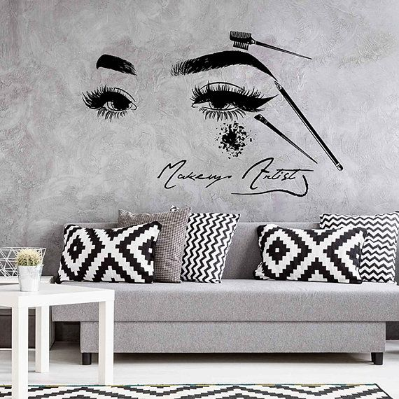 170 best Wall Decals Hair salon/nail salon/spa images on Pinterest