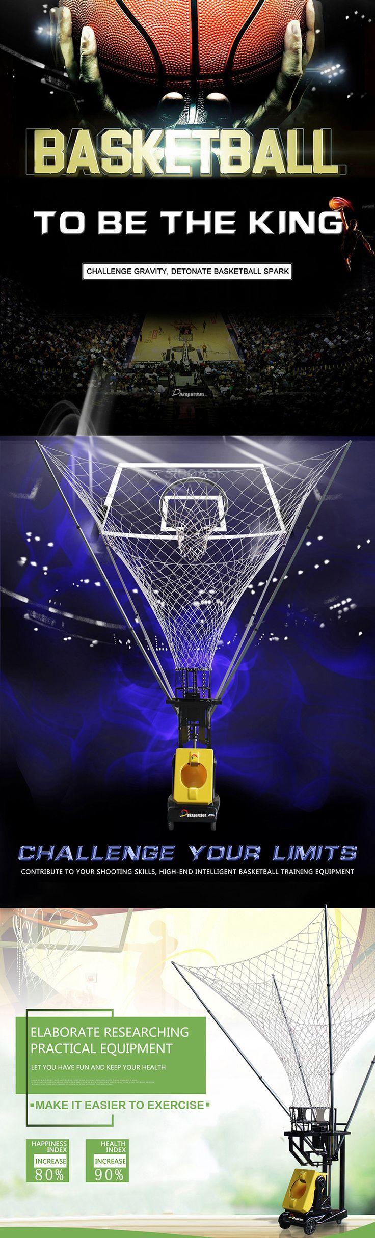 DKsportbot DL1 Basketball Training Machine #nice #good #basketball #basketballtime #basketballtraining #trainingmachine