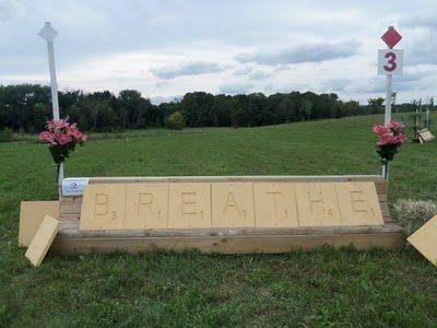 Scrabble Cross Country Jump- Adore. I love this!!!