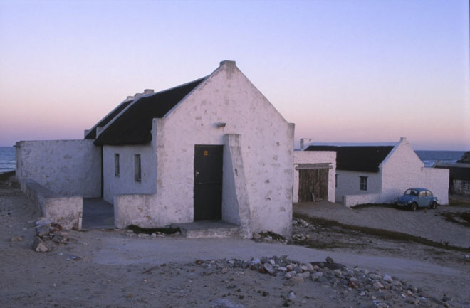 Arniston near cape town - white washed cottages