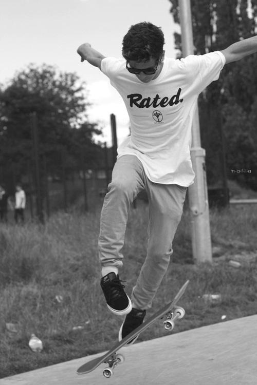 lovely skater boy