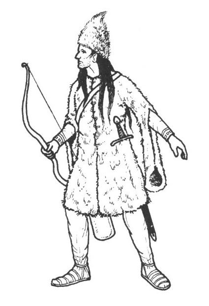 Wallachian archer from the Battle of Posada 1330. Ian Heath