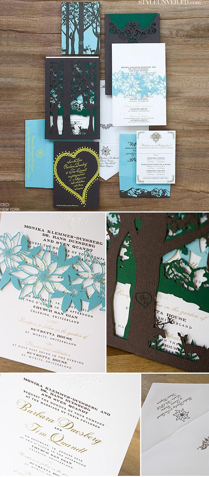 78 best Laser Cut Wedding Invites images on Pinterest Laser cut