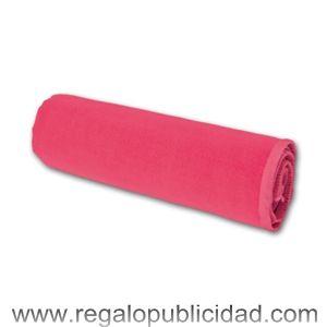 Toalla microfibra ferdi absorbente con estuche pvc en  4 colores, personalizadas con el logo de su empresa, bartas, para regalos de empresa, eventos, campañas de marketing y publicidad.
