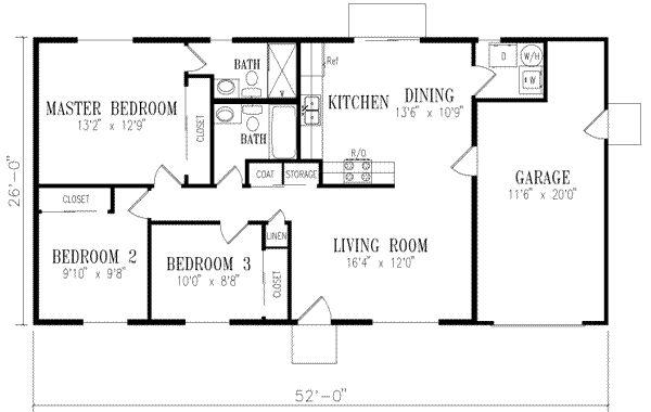 Pin On Quik Houses Plans Quik house floor plan