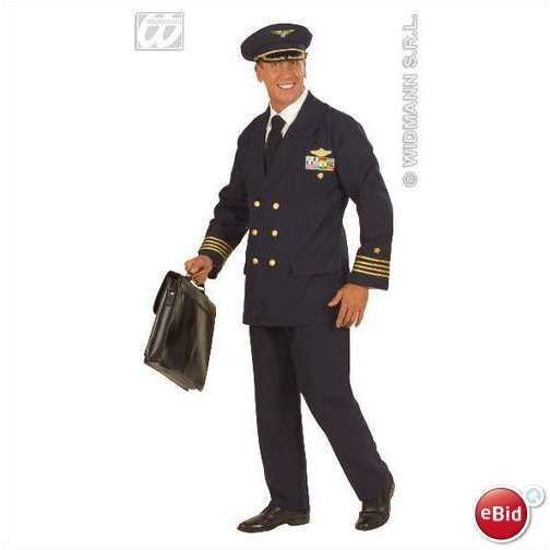 """AIRLINE PILOT SIZE LARGE 42""""-44"""" CHEST Listing in the Costumes for Men,Costumes & Fancy Dress,Fancy Dress, Costumes & Reenactment,Clothes, Shoes, Accessories Category on eBid United Kingdom 