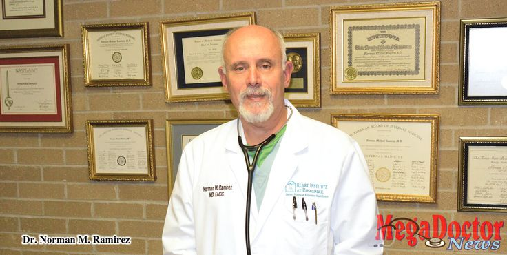 Norman M. Ramirez, M.D., F.A.C.C. is a recognizable name in medicine. He is an internal medicine and cardiology physician certified by the American Board of Internal Medicine and with a solid background in his specialties.