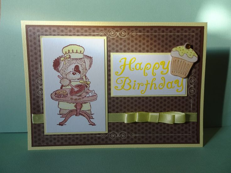 My card today is inspired by the 'dressing up' theme over at Cute Card…