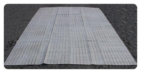 Kilim rug,292x230cm,9'6x7'5 ft,Kilim,Rug,Turkish rug,Turkish kilim,Turkish Kilim rug,Vintage Rug,White Rug,Modern Rug,Handmade rug,rugs,172.