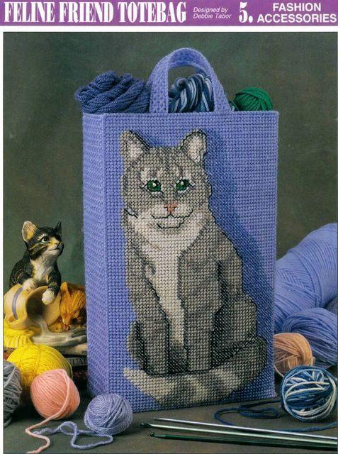 Feline friend tote bag 1 lona de pl stico pinterest - Lonas de plastico ...