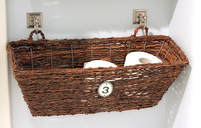 16 Practical And Creative Toilet Paper Storage Ideas