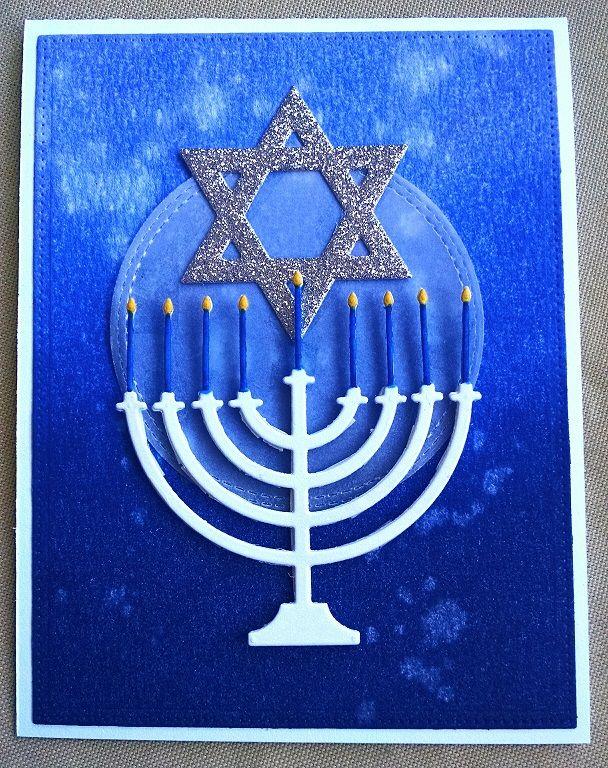 hanukkah - Homemade Cards, Rubber Stamp Art, & Paper Crafts - Splitcoaststampers.com