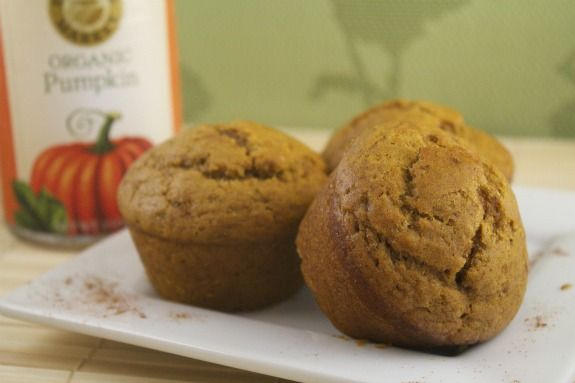 Pumpkin muffins (vegan)