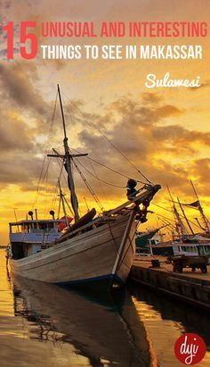 A visit to the Makassar harbor to see the traditional Bogey (where Boogey man…
