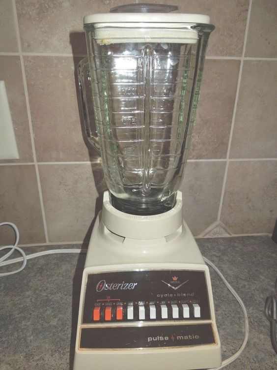 Vintage Imperial Oster Osterizer Blender 10 Speed 890-06M Pulse Matic 375 watts