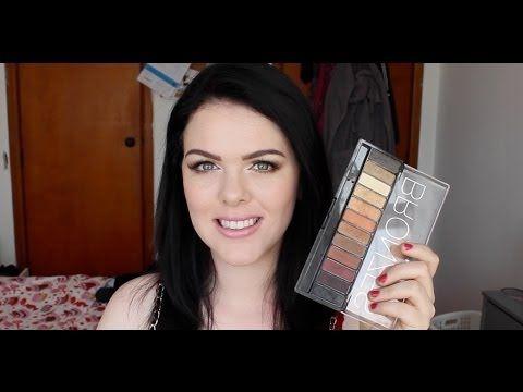 GRWM ♥ Using Chichi Bronzes Palette - YouTube