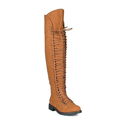 Thigh High Combat Boots Travis 05