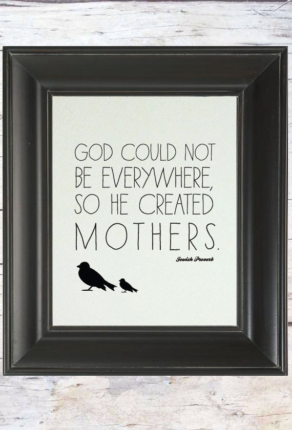 Love Quote for Mothers // Gifts for Mom // by Ladybird Ink on etsy $18.00
