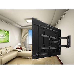 TV-Wall-Mount-Bracket-with-Full-Motion-Articulating-Arm-Extends-and-Swivels