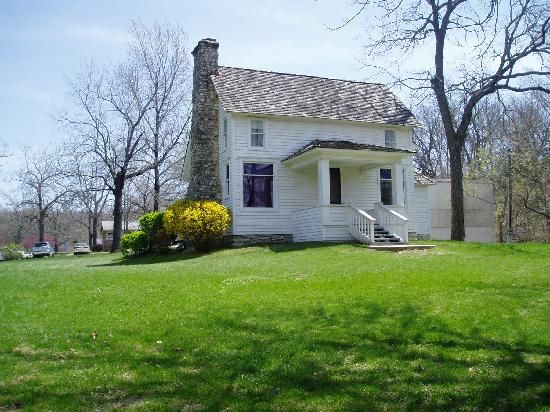 Laura Ingalls Wilder home near Mansfield, MO (built by Almanzo)