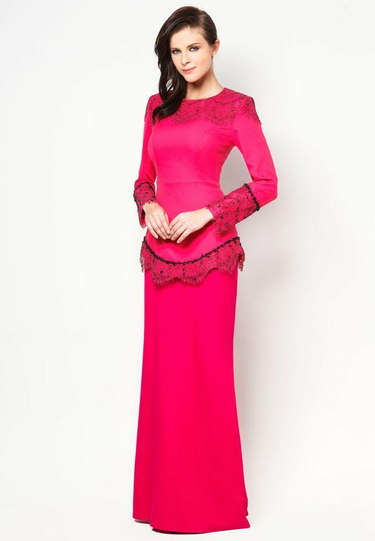 Buy Jovian Mandagie for Zalora Chantilly Carina Baju Kurung | ZALORA Malaysia