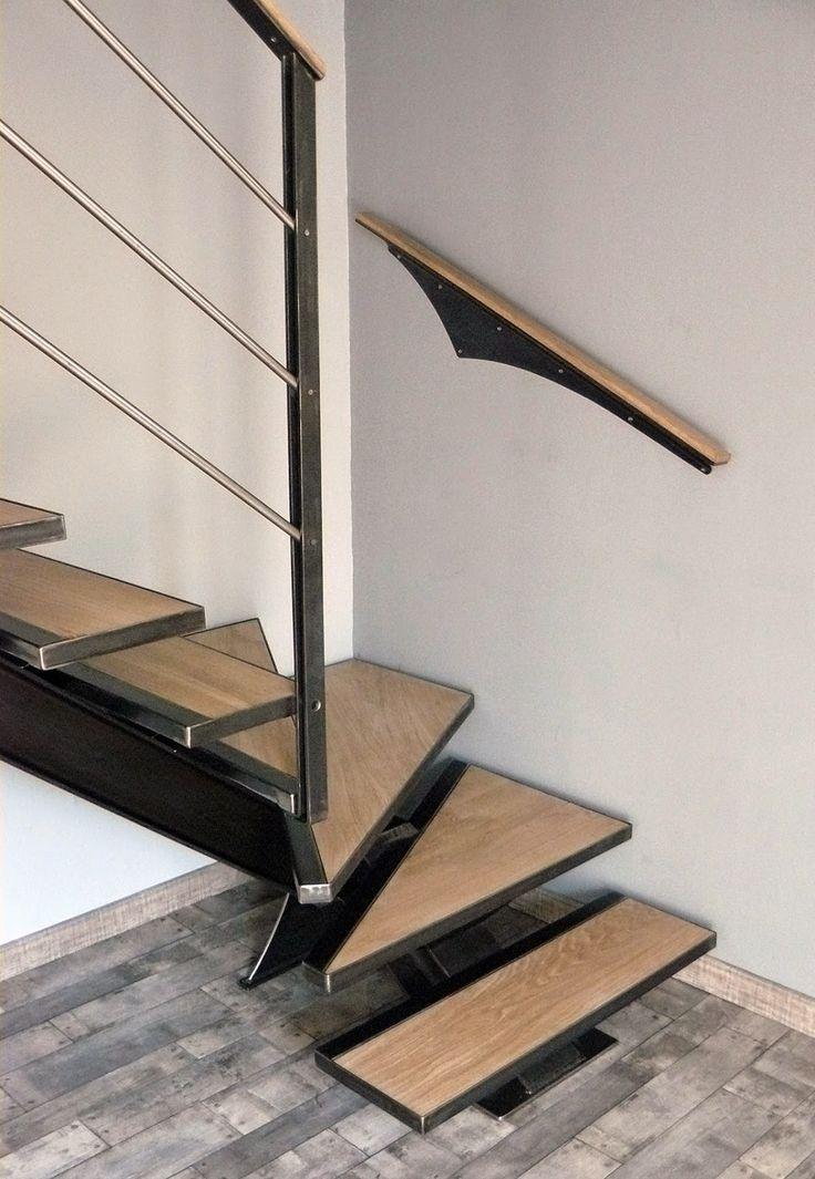 Ferronnerie métallerie serrurerie 79 Deux-Sèvres L'Art du Fer-Play: Escalier 1/4 tournant