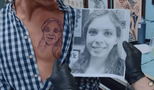Hayley Williams Gets Awful Tattoo in New Found Glory Video #InkedMagazine #blog #musicvideo #humor #tattoos #music