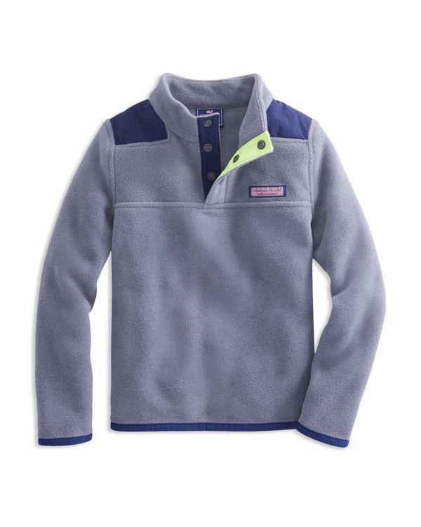 Vineyard Vines Boys' Fleece Shep Pullover - Sizes S-xl