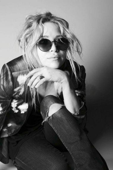 Mary Kate Olsen - Gafas de sol redondas - Round sunglasses - Sunnies