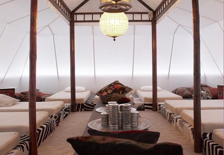 Bedouin style relaxation - Devarana Sauna Beauty Resort the Netherlands