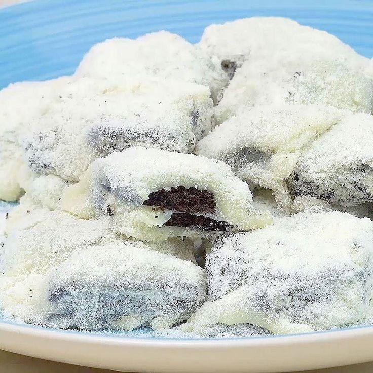 Se você ama palha italiana você precisa ver essa receita: Palha italiana de biscoito Oreo com Leite Ninho! . Receita em vídeo lá no @foodmakersbr #saldeflor #foodmakers #palhaitaliana #leiteninho