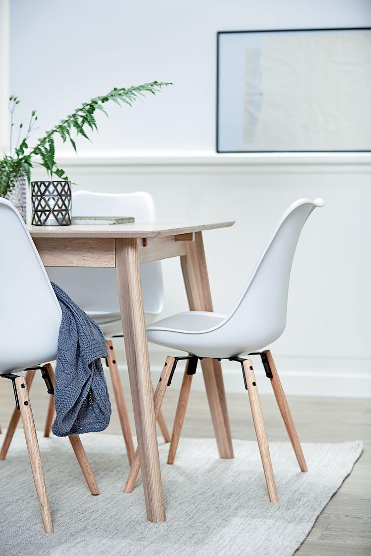 KLARUP spisestol hvit, detaljer | Classic Living | Skandinaviske hjem, nordisk design, Skandinavisk design, nordiske hjem | JYSK