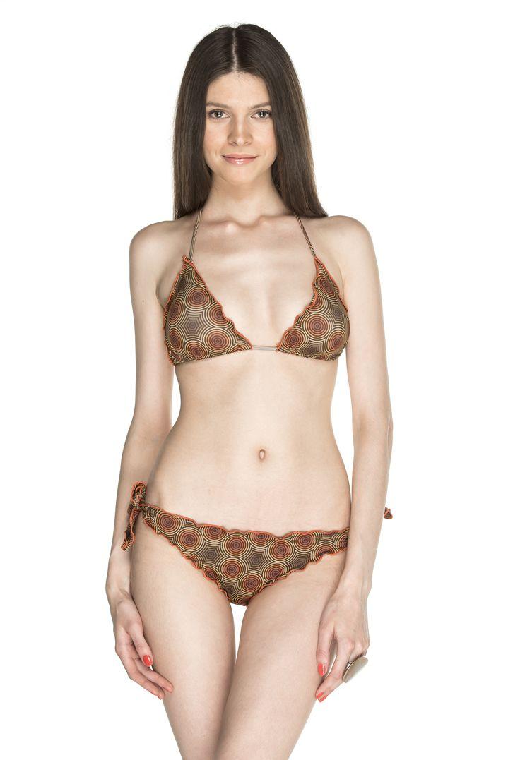 Circles Bikini a triangolo, con coppe estraibili e laccetti regolabili. #baciobeach