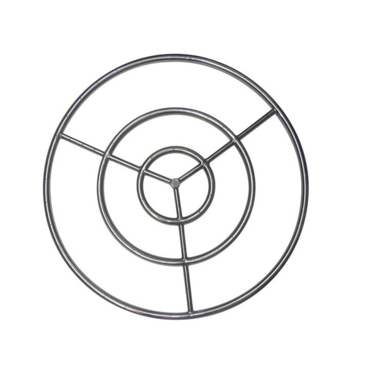 Tretco 30 in. Stainless Steel Fire Pit Ring - OBRSS-30R