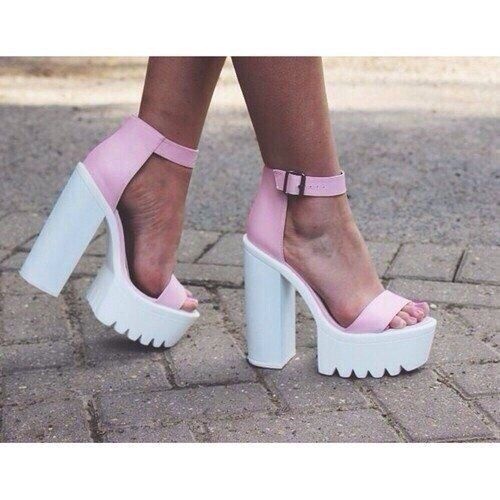 grafika pink, shoes, and white