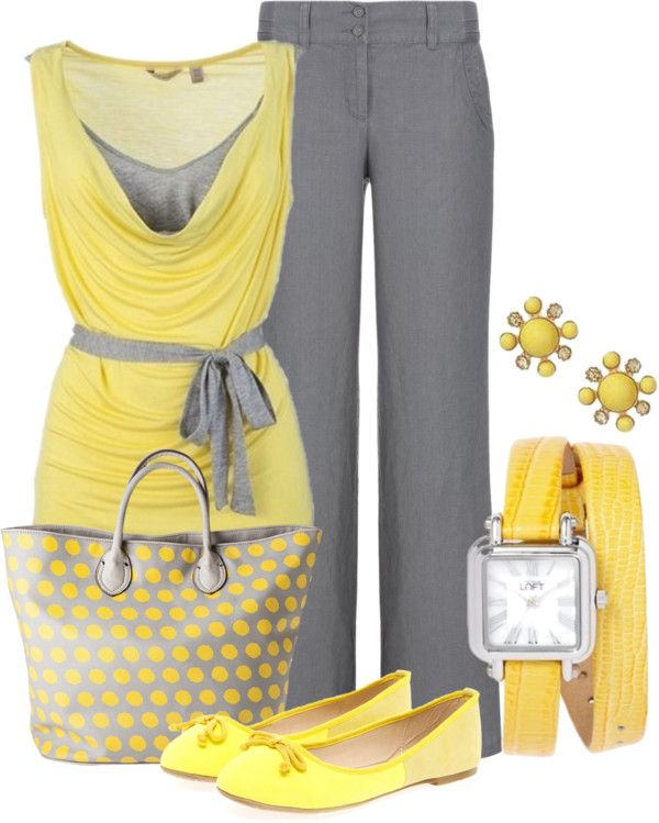 Kinda diggin on the yellow and gray.