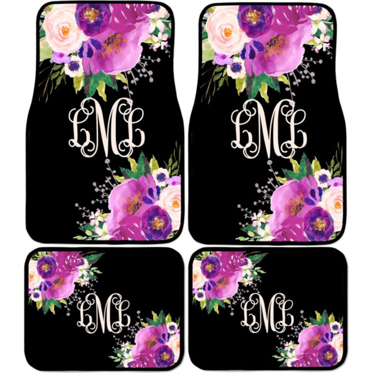 Car Accessories for Women | Car Mats | Car Floor Mats, Monogrammed Car Mats Car Accessories by SassySouthernGals on Etsy https://www.etsy.com/listing/488386600/car-accessories-for-women-car-mats-car