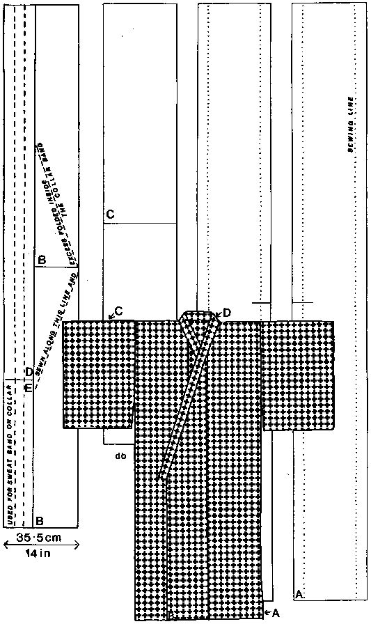 Basic Kimono Pattern. Perfect pattern for handwoven material??