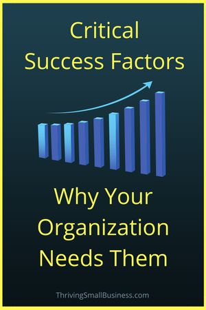 What Are Critical Success Factors? The Thriving Small Business #critical #success #factors #ppt http://honolulu.remmont.com/what-are-critical-success-factors-the-thriving-small-business-critical-success-factors-ppt/  # What Are Critical Success Factors? Whether you are managing a restaurant, boutique or insurance agency, it is important to know that you are focusing on those things that help the organization achieve its mission. Anyone who manages internal processes understands how…