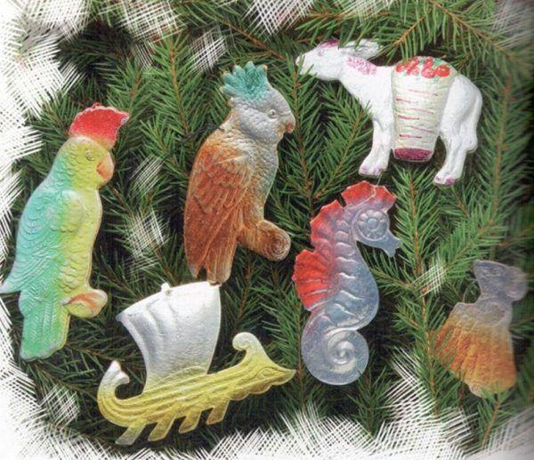 Новогодние игрушки в СССР