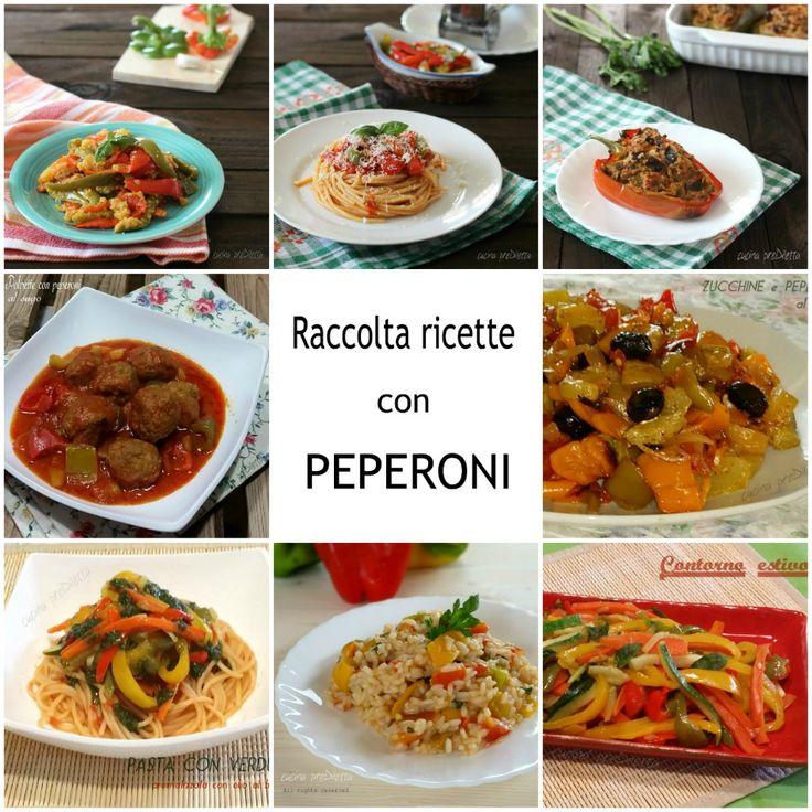 Raccolta ricette con peperoni   le ricette di cucina preDiletta